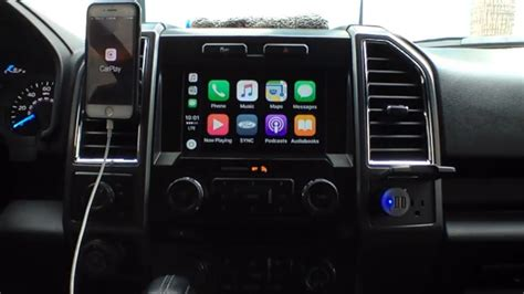 2016 ford f150 Apple/Android -- Carplay/Auto Update