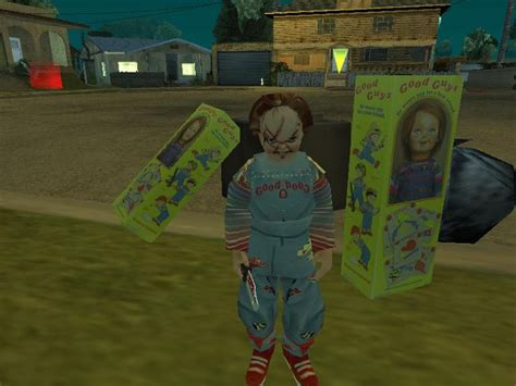 Chucky Shots image - San Andreas Child's Play mod for