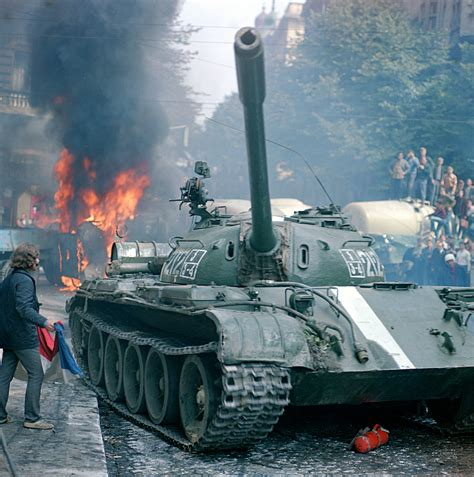 The Soviet Invasion of Czechoslovakia and the crushing of